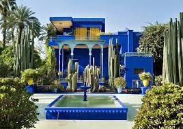 Yves Saint Laurent garden